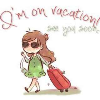 VACAY MODE IS ON