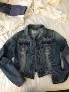 New look London jean jacket US size 8 fits like medium
