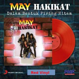 MAY Hakikat LP Red Vinyl