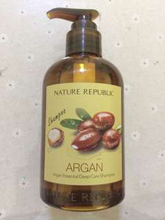 BN Korea Nature Republic Argan Oil Deep Care Shampoo
