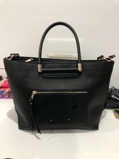 Black work/uni bag