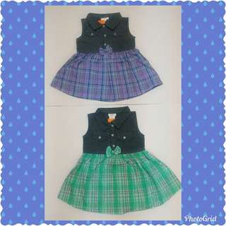 Girl Dress lelong size 12m & 3t