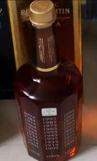 千禧珍藏日威。三得利2000出品,選用山崎15年原酒調配限量版威士忌750 ml with box.