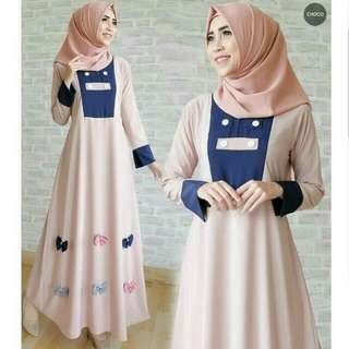 Gaun dress tami