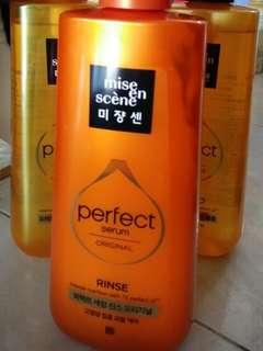 Mise en scene Perfect serum original Rinse(conditioner) 680ml