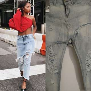 (Final Price)Denim skort pants