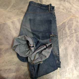 Jeans Kepala Kain