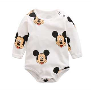 New! Mickey Mouse Rompers