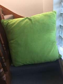 Huge Green Pillow.