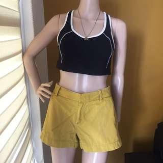 Uniqlo Mustard Yellow Shorts