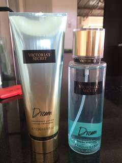 100% original Victoria Secret Dream lotion and perfume. P700 each!