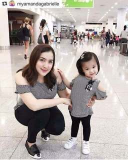 Mom and daugter top