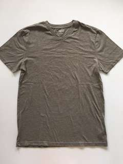 Mossimo Gray V-Neck Shirt