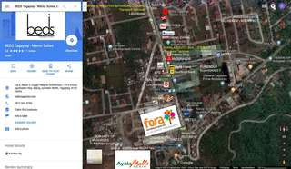 350sqm Tagaytay Lot beside Olivarez Plaza Tagaytay Rotonda for Boutique Hotel business