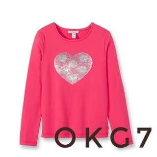 Okaidi T-shirt with Magic Sequins