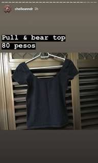 Pull&bear top