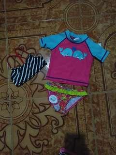 Preloved branded swimwear