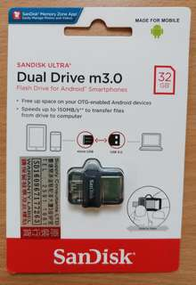 Dual Drive m3.0 (OTG flash drive 32GB)