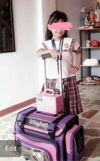 School bag & uniform
