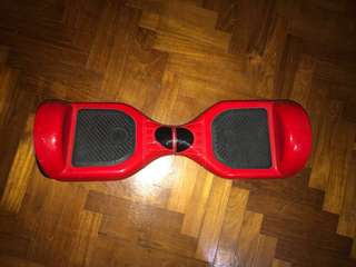red hoverboard! - great condition