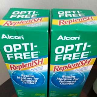 Alcon Opti Free Replenish Contact Lens Solution