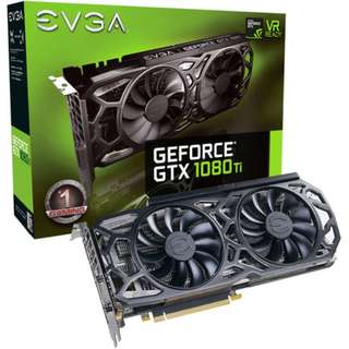 全新有保EVGA GeForce GTX 1080 Ti SC GAMING Black Edition