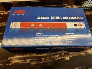 382i sonic maximizer