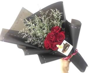 【520】Red Rose Bouquet