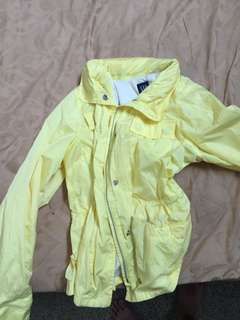 Preloved GAP Yellow Windbreaker