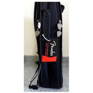 FENDER URBAN DOUBLE ELECTRIC BASS (x2) GIG BAG - NEW!