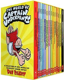 Captain underpants (14 books)