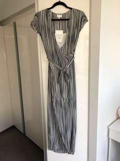 Witchery - Dress - Black/White Stripe