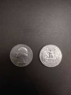 Quarter dollar USA 1986/1996