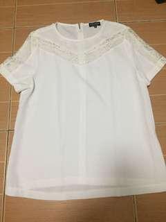 Zalora white top
