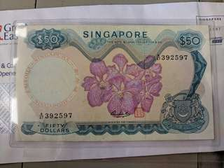 Orchid $50 series note