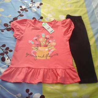 (NEW) set girl 3 years brand anakku