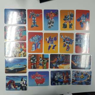 Transformers Vintage 1st Trading Card Series 1985 Hasbro Collection