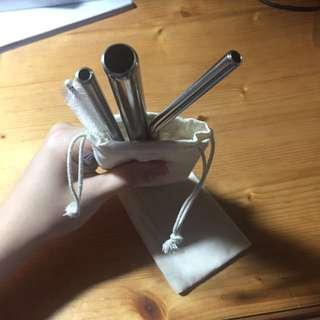 環保不鏽鋼吸管 316不鏽鋼/外拋光