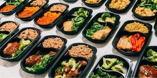 Healthy diet meals