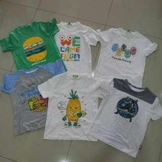 Combo 6-7yr Shirts