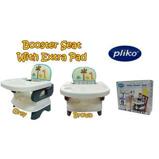 PLIKO Booster Seat With PAD