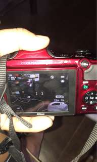 Nikon coolpix L820 with 16GB memory