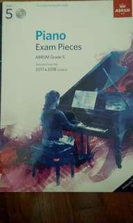 ABRSM Grade 5 2017&2018 Piano Exam Pieces