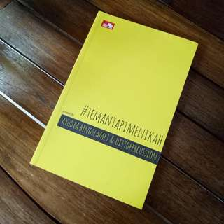 #TemanTapiMenikah Buku/Novel