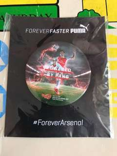 Arsenal 扣牌