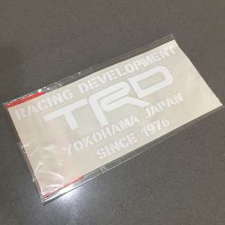 TRD Official Goods • Car Sticker • Genuine • Japan #Ramadan50