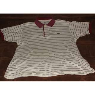 Authentic Polo Shirt Lacoste strip