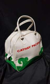 Vintage cathay pacific bag