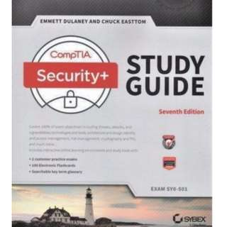 CompTIA Security+ Study Guide: Exam SY0-501 7th Edition softcopy pdf