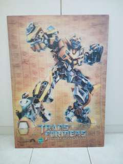 Transformers 3D limited edition